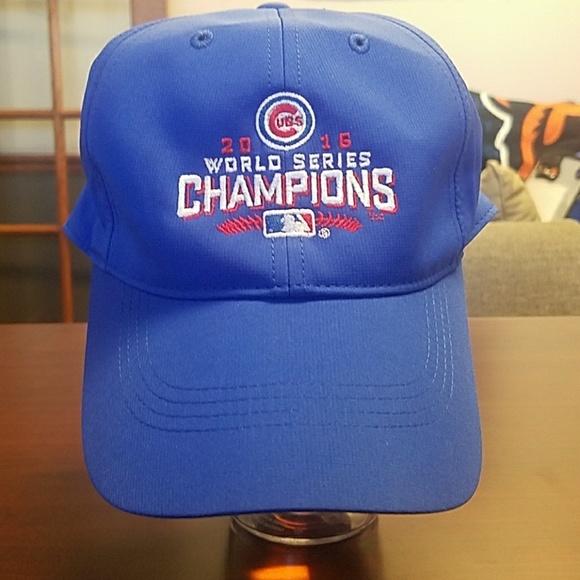 Nike Cubs World Series Championship Hat! ec10230aa68